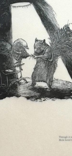 Mole and Squirrel